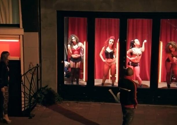 Индивидуалки на улице красных фонарей